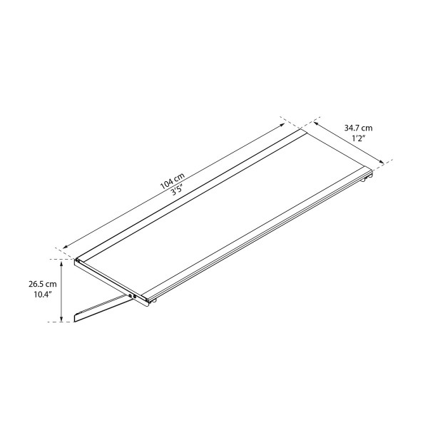 Palram Skylight Utility Shelf